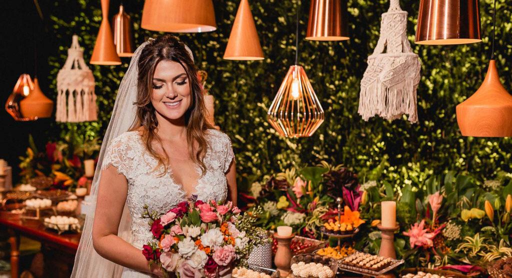 Noiva de cabelo solto | Foto: Vinicius Nunes