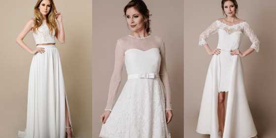 Vestido De Noiva Para Casamento Civil Inspirações Do