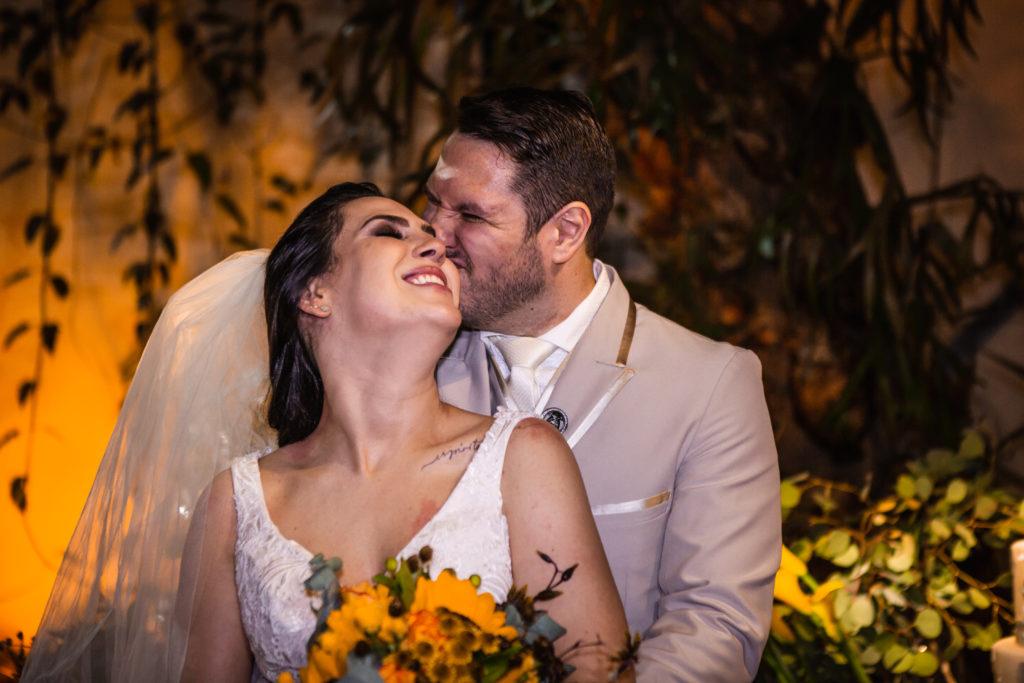 casamento descontraído e alegre